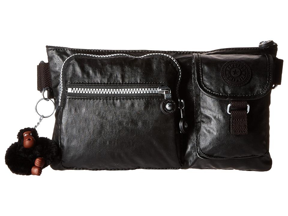 Kipling Presto Waistpack Lacquer Black Handbags