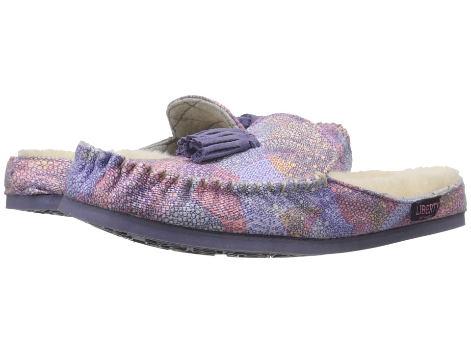 Bedroom Athletics Georgina Lilac Kaleidoscope Womens Slippers