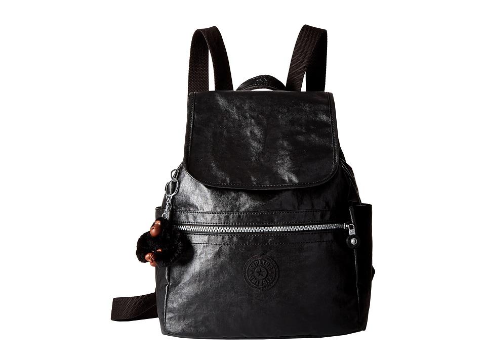 Kipling - Ellaria Backpack (Lacquer Black) Backpack Bags