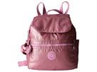 Kipling Ellaria Backpack (Metallic Pink Plum Stripe)