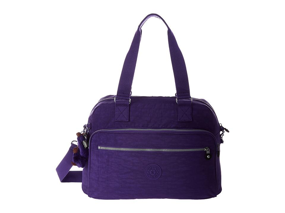 Kipling New Weekend Soft Luggage Precisely Purple Weekender/Overnight Luggage