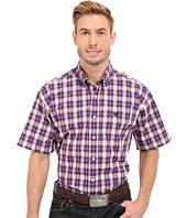 Cinch - Short Sleeve Plain Weave Plaid