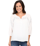 Roper - 0503 Rayon Peasant Blouse w/ Lace Trim