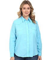 Roper - Plus Size 0487 Solid Broadcloth - Turquoise
