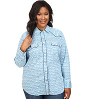 Roper - Plus Size 0442 Mini Ikat Print