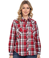 Roper - Plus Size 0379 Red & Black Plaid