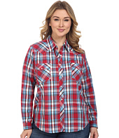 Roper - Plus Size 0375 Red & Blue Plaid