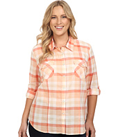Roper - Plus Size 0422 Tangerine Plaid