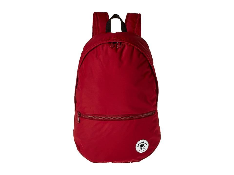 Crumpler Proud Stash Lightweight Backpack Claret Backpack Bags