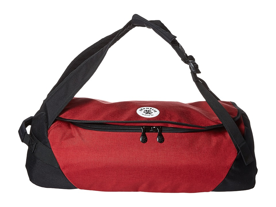 Crumpler Ample Thigh Duffel Bag Claret Duffel Bags