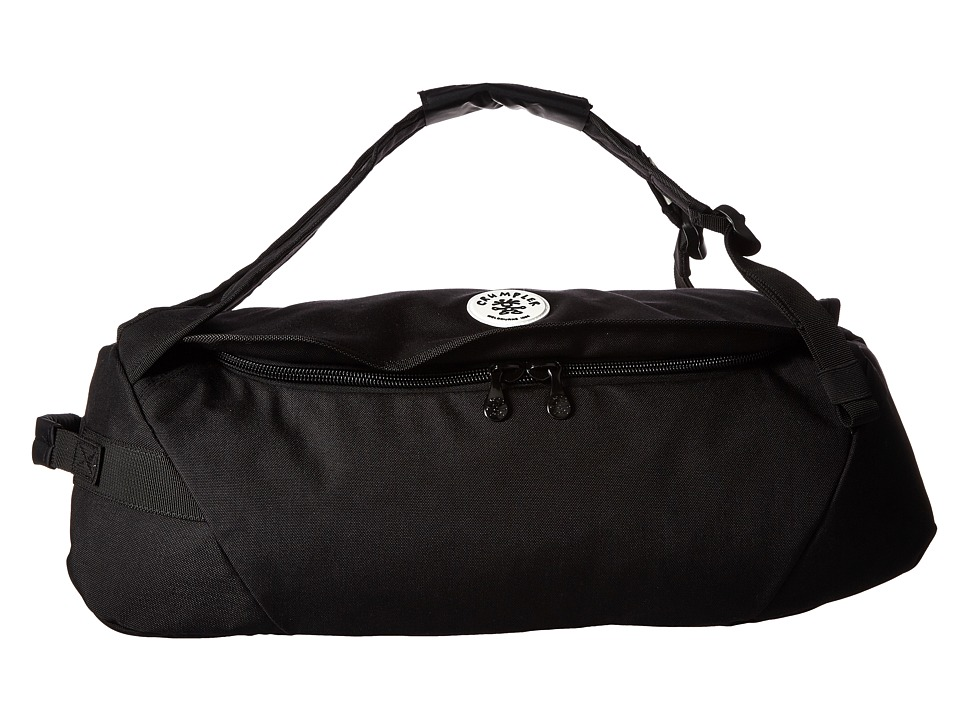 Crumpler - Ample Thigh Duffel Bag (Black) Duffel Bags