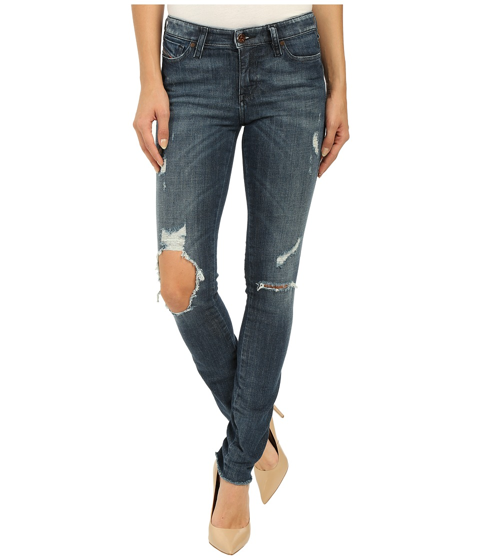 Diesel Skinzee Trousers 671V Denim Womens Jeans