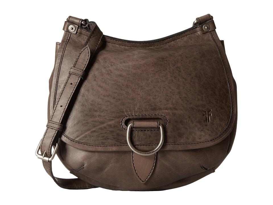 Frye - Amy Crossbody (Grey) Cross Body Handbags
