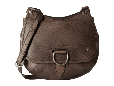 Frye Amy Crossbody - Grey Oiled Vintage Leather