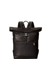 COACH - Sport Calf Manhattan Fold-Over Backpack