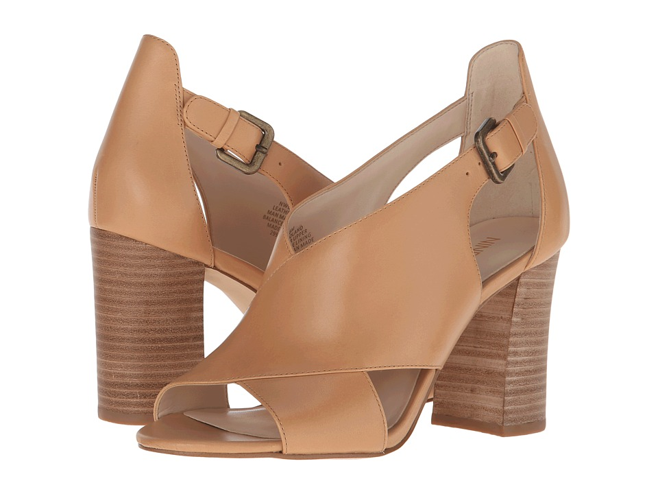 Nine West Boland Natural Leather High Heels