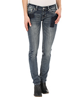 Rock and Roll Cowgirl - Low Rise Skinny in Medium Vintage W0S6425