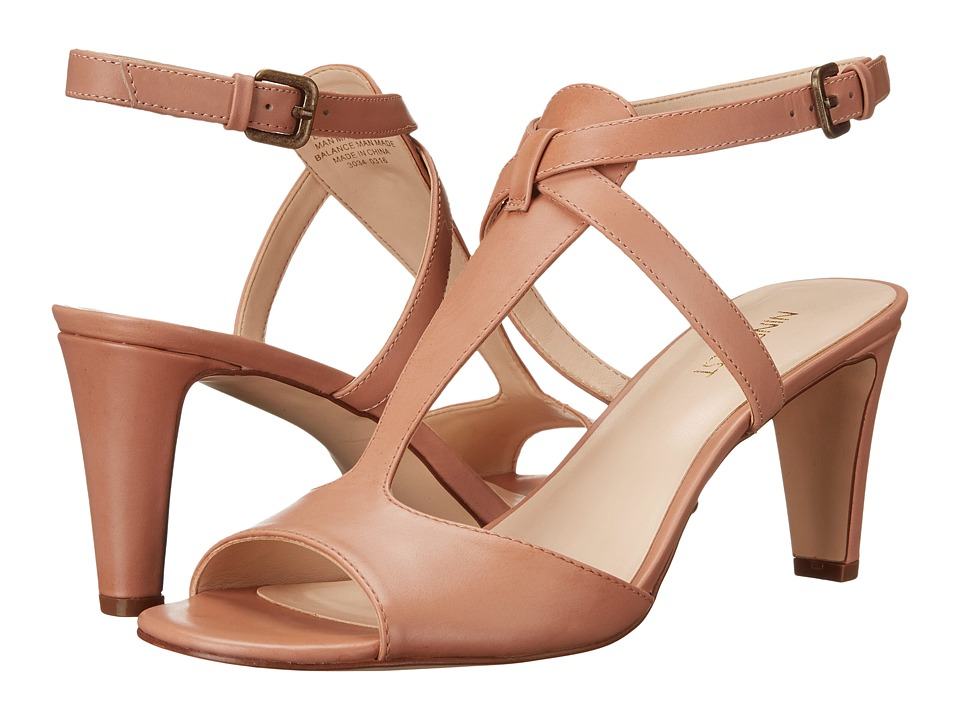 Nine West Deara Natural Leather High Heels