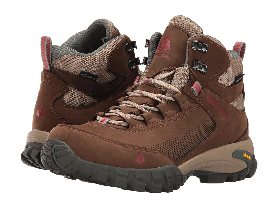 Vasque - Talus Trek UltraDry (Slate Brown/Balsam Green) Women