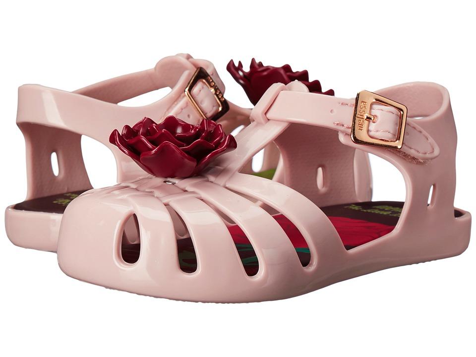 Mini Melissa Aranha PP III Toddler Pearl Pink Girls Shoes