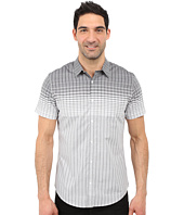 Calvin Klein - Slim Fit Wide Grid Short Sleeve Shirt
