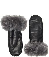 UGG - Leather Mitten w/ Toscana Trim