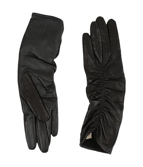 UGG Ruched Novelty Leather Smart Gloves