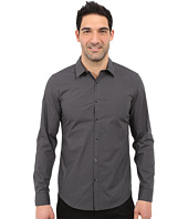 Calvin Klein - Infinite Cool Slim Fit Non-Iron Shadow Check Shirt