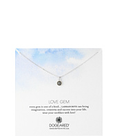 Dogeared - Love Gem Dangling Labradorite Necklace