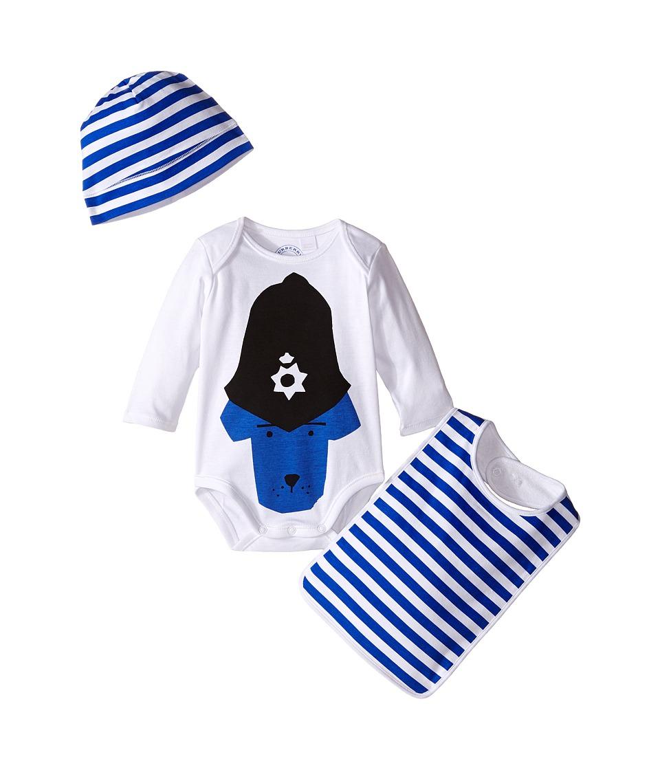 Burberry Kids - POLICE DOG (Infant/Toddler) (White) Girl'...