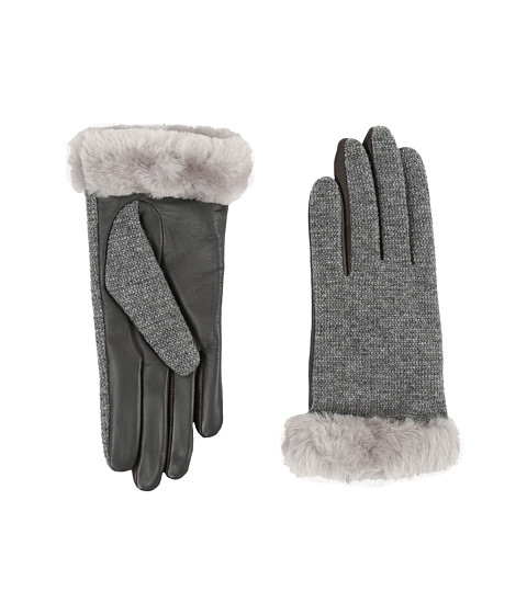 UGG Shorty Smart Fabric Gloves w/ Short Pile Trim