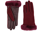 Shorty Smart Fabric Gloves w/ Short Pile Trim