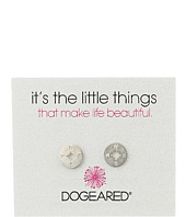 Dogeared - Little Things Compass Disc Stud Earrings