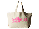 Dogeared California Dreaming Super Tote (Pink/Canvas)