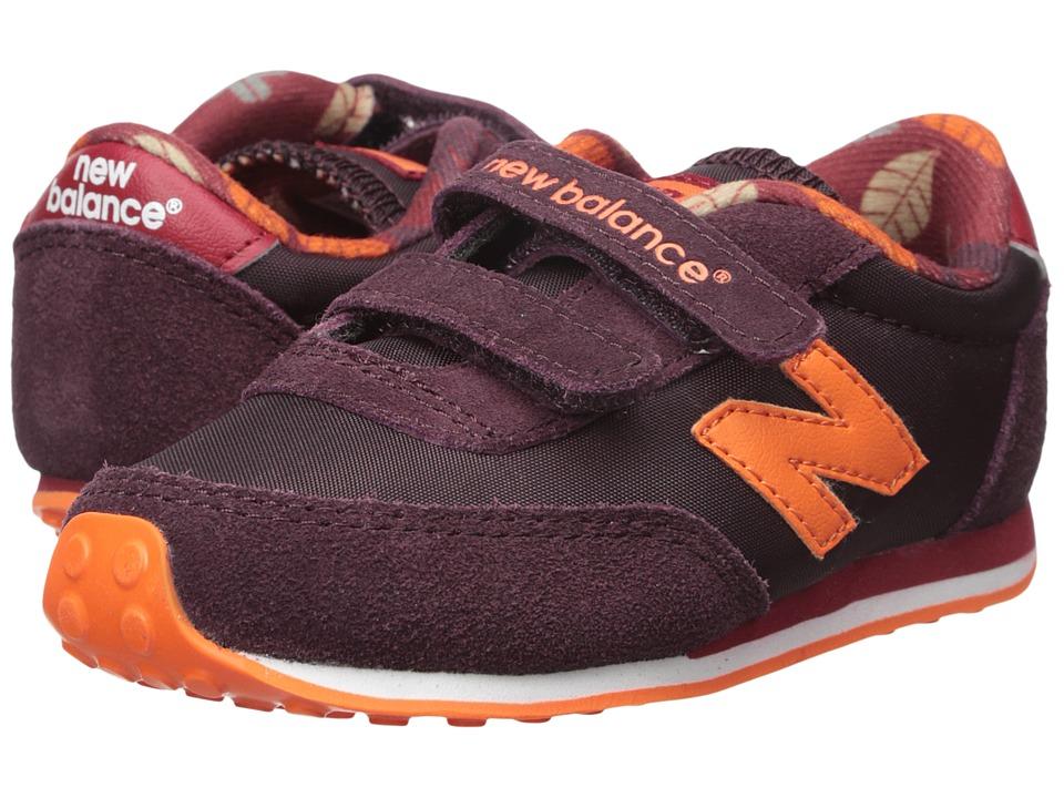 New Balance Kids - 410 (Infant/Toddler) (Burgundy) Kids Shoes