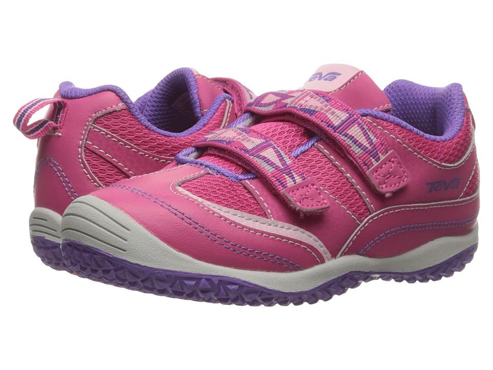 Teva Kids Cartwheel (Toddler) (Raspberry/Light Pink) Girls Shoes