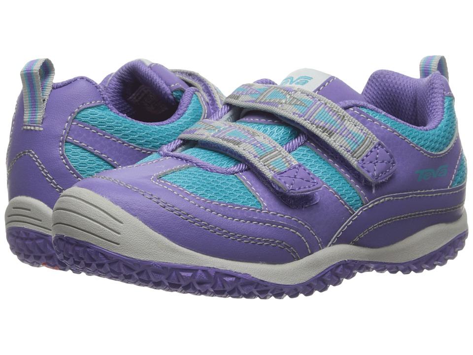 Teva Kids Cartwheel (Toddler) (Light Blue/Purple) Girls Shoes