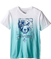 Lucky Brand Kids - Dip Dye Bear Tee (Big Kids)