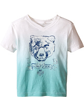 Lucky Brand Kids - Dip Dye Bear Tee (Toddler)