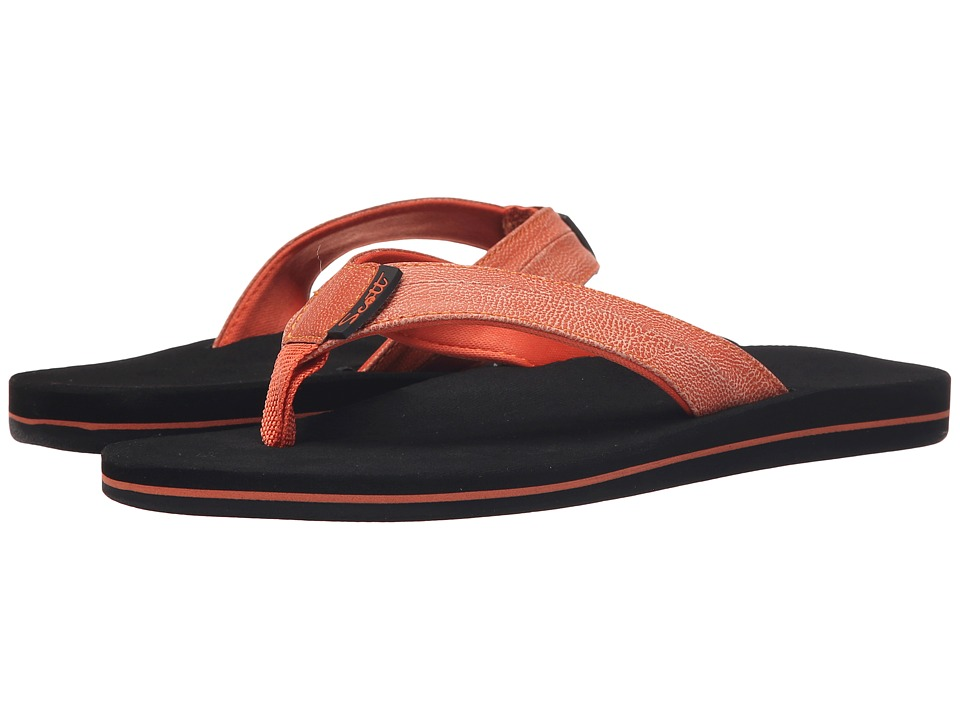 Scott Hawaii Nahoa Orange Womens Sandals