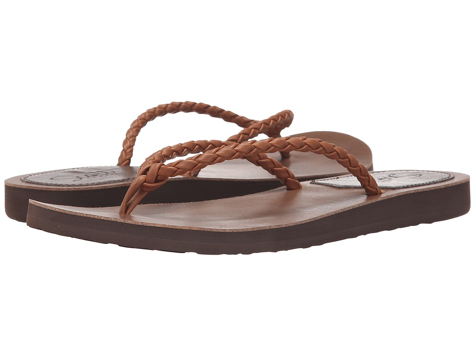 Scott Hawaii Hili Brown Womens Sandals
