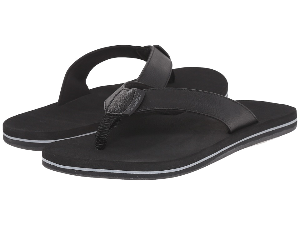 Scott Hawaii Alani Black Womens Sandals
