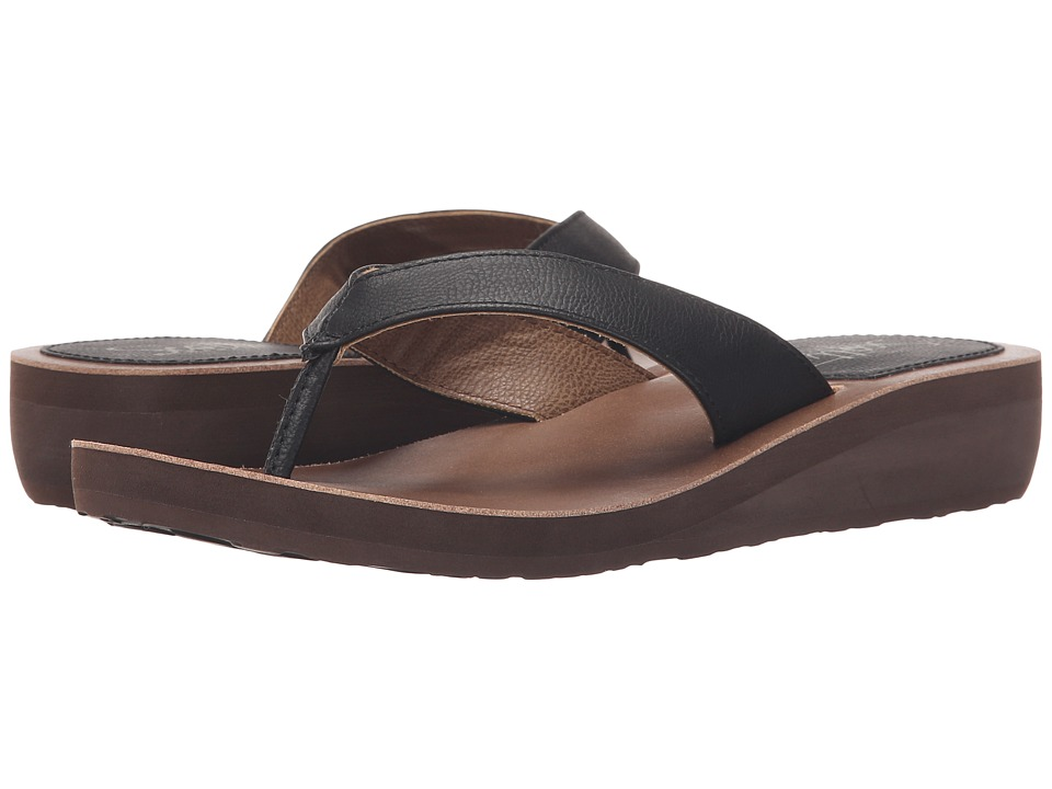 Scott Hawaii Mahie Black Womens Sandals