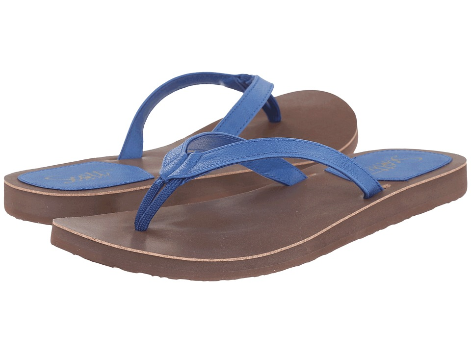 Scott Hawaii Pikake Blue Womens Sandals