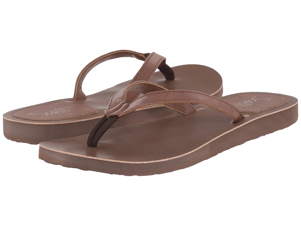 Scott Hawaii Pikake Chocolate Womens Sandals