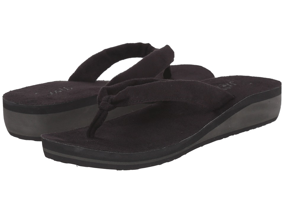 Scott Hawaii Puna Black Womens Sandals