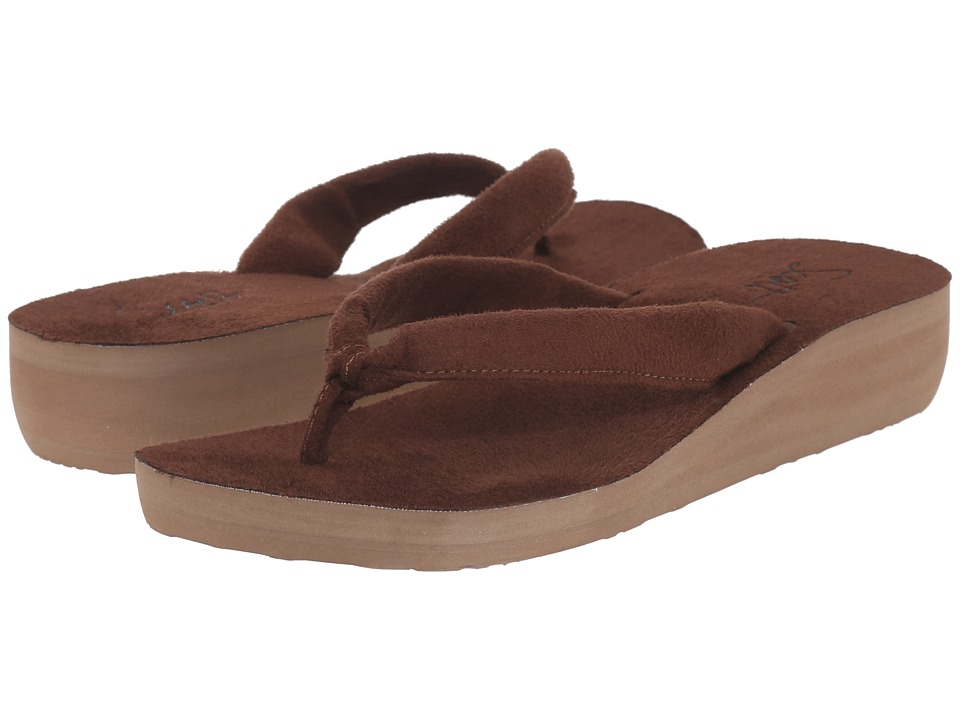 Scott Hawaii Puna Brown Womens Sandals