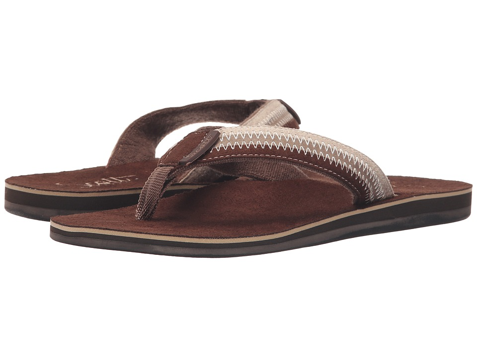 Scott Hawaii Punahele Brown Womens Sandals