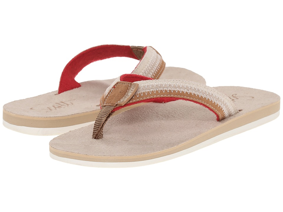 Scott Hawaii Punahele Tan Womens Sandals