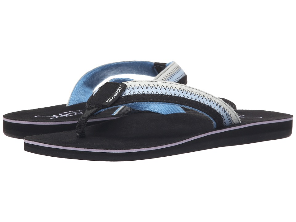 Scott Hawaii Punahele Black Womens Sandals